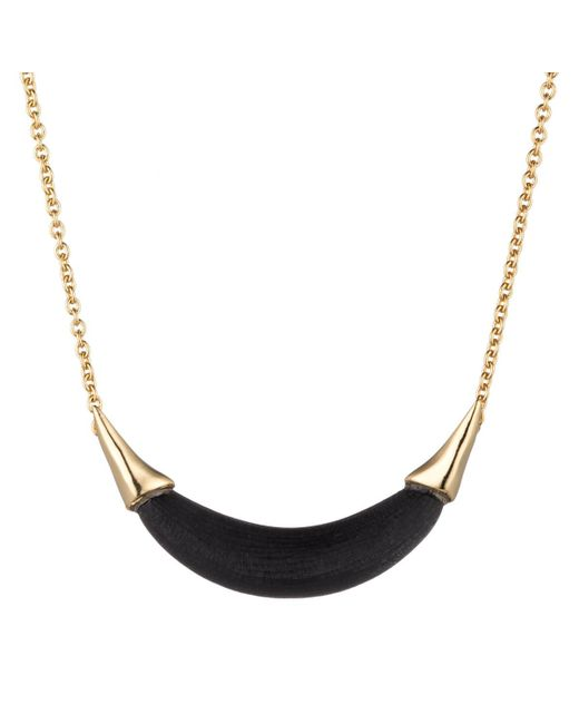 Alexis Bittar | Black Gold Capped Crescent Pendant You Might Also Like | Lyst