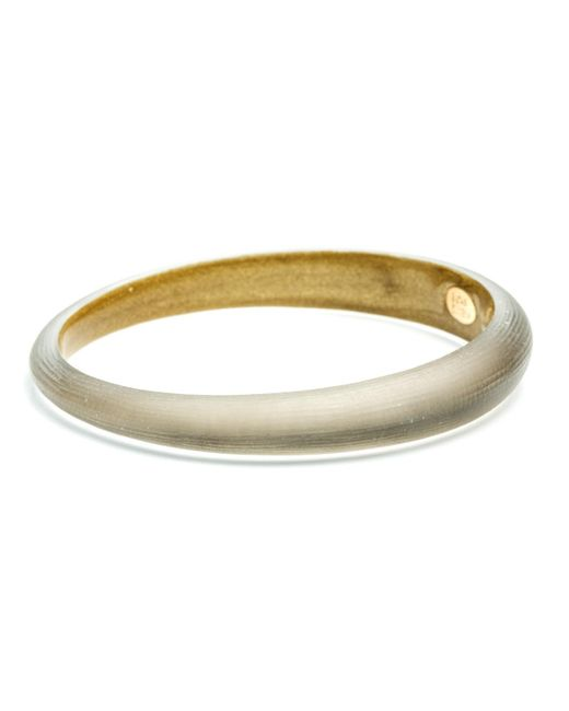 Alexis Bittar | Gray Skinny Tapered Bangle You Might Also Like | Lyst
