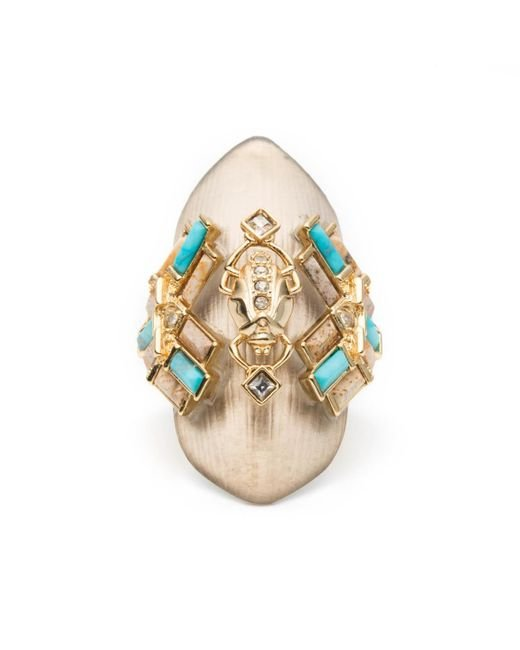 Alexis Bittar | Metallic Phoenix Deco Shield Ring You Might Also Like | Lyst
