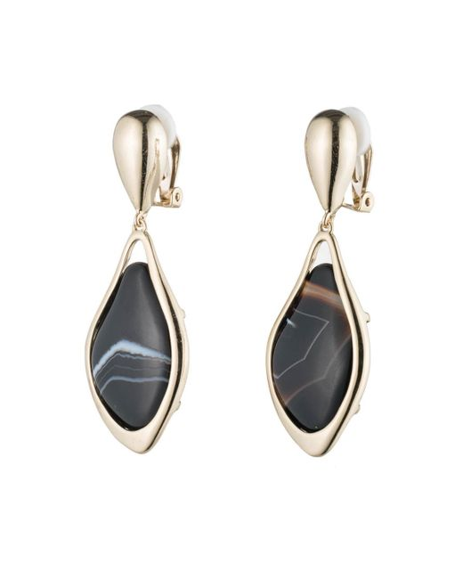 Alexis Bittar | Metallic Dangling Agate Earring Clip You Might Also Like | Lyst