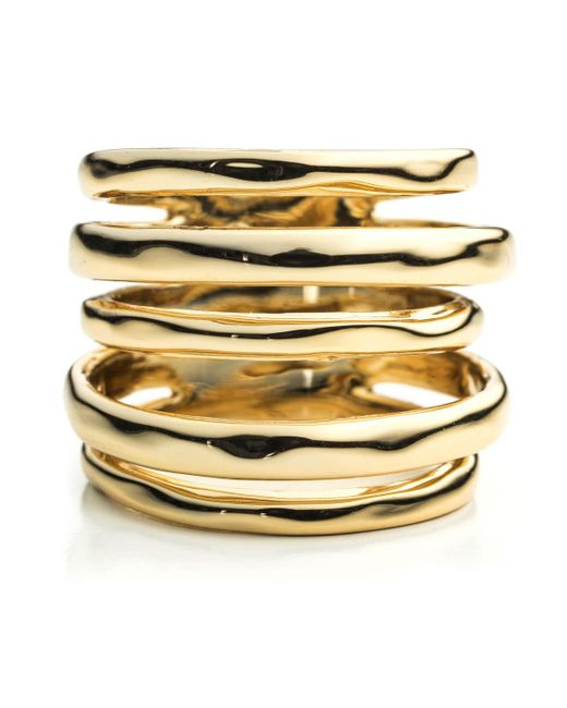 Alexis Bittar - Metallic Liquid Gold Layered Ring You Might Also Like - Lyst
