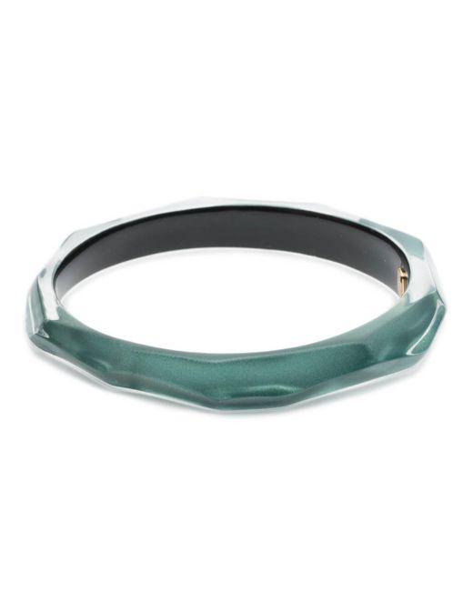 Alexis Bittar - Blue Skinny Faceted Bangle Bracelet - Lyst