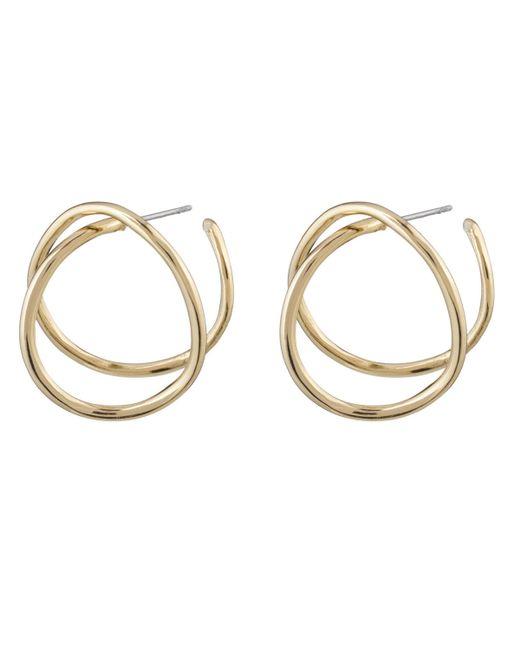Alexis Bittar | Metallic Crystal Encrusted Orbiting Teardrop Earrings | Lyst