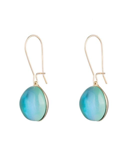 Alexis Bittar   Blue Dangling Sphere Kidney Wire You Might Also Like   Lyst