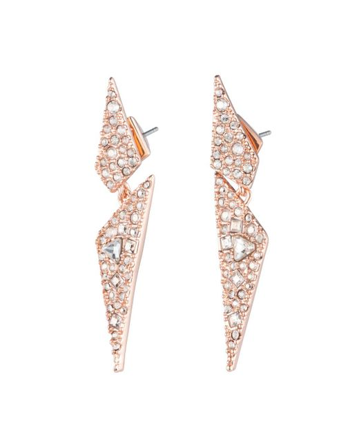 Alexis Bittar | Multicolor Crystal Encrusted Dangling Origami Post Earring You Might Also Like | Lyst