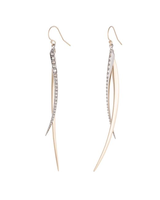 Alexis Bittar   Multicolor Two Tone Spear Wire Earrings You Might Also Like   Lyst