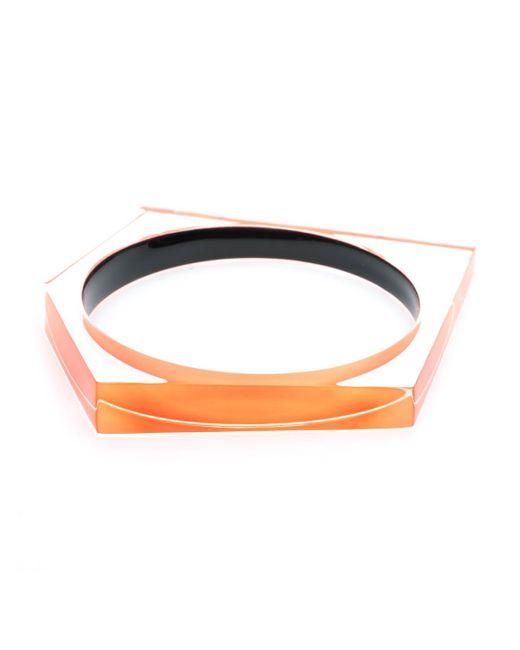 Alexis Bittar | Multicolor Asymmetrical Pentagon Bangle Bracelet You Might Also Like | Lyst