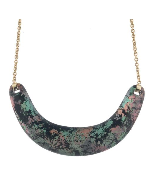 Alexis Bittar | Multicolor Crescent Bib Necklace You Might Also Like | Lyst