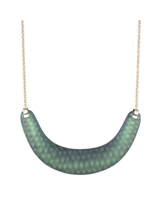 Alexis Bittar | Green Crescent Bib Necklace You Might Also Like | Lyst
