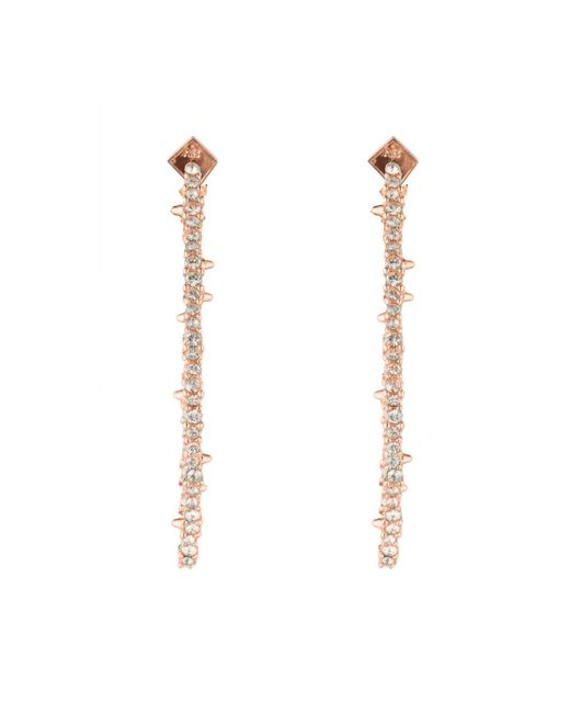Alexis Bittar - Multicolor Encrusted Abstract Thorn Post Earring - Lyst