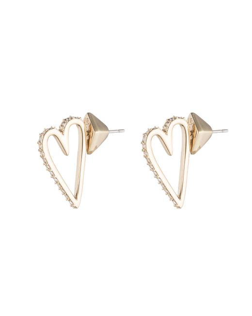 Alexis Bittar - Metallic Abstract Open Heart Stud Earring You Might Also Like - Lyst