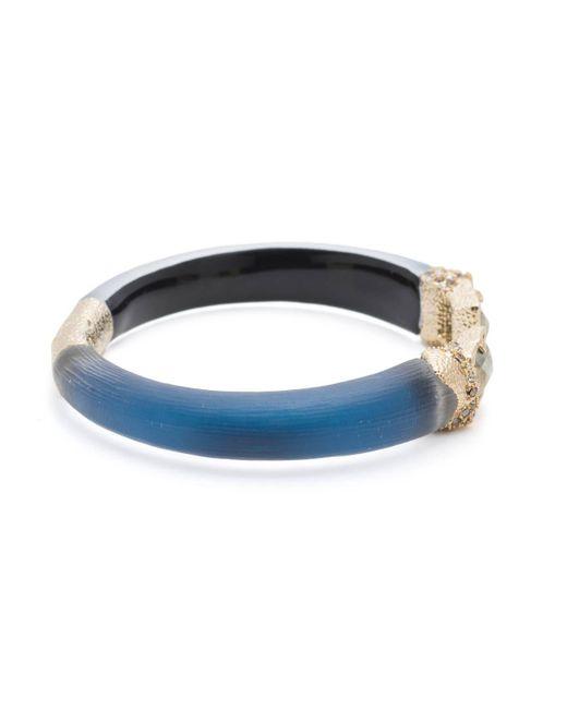 Alexis Bittar - Multicolor Stone Baguette Brake Hinge Bracelet - Lyst