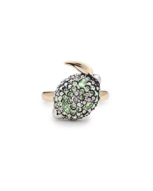 Alexis Bittar - Metallic Crystal Encrusted Lime Ring You Might Also Like - Lyst