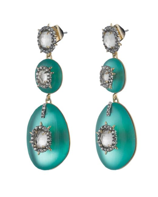 Alexis Bittar - Multicolor Triple Lucite Drop Earring You Might Also Like - Lyst