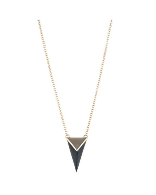 Alexis Bittar - Metallic Pyramid Pendant Necklace You Might Also Like - Lyst