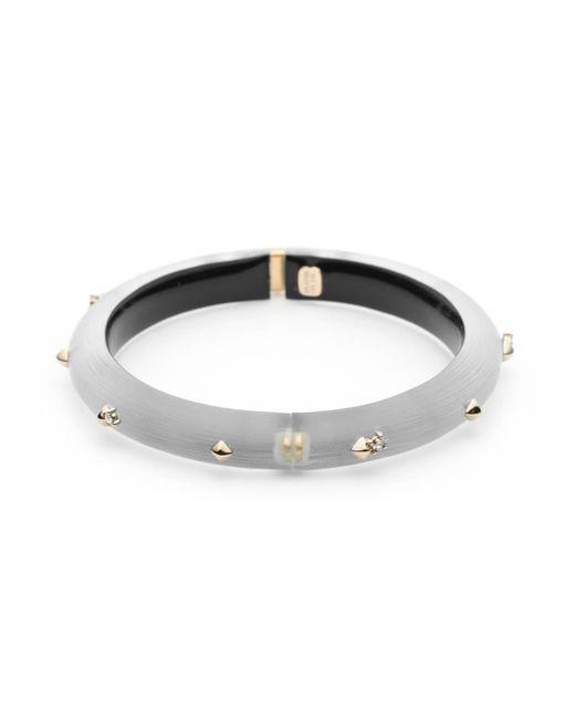 Alexis Bittar - Metallic Golden Studded Hinge Bracelet You Might Also Like - Lyst