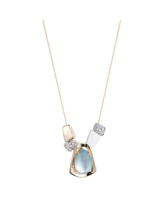 Alexis Bittar - Metallic Liquid Gold Sliding Pendant Necklace You Might Also Like - Lyst