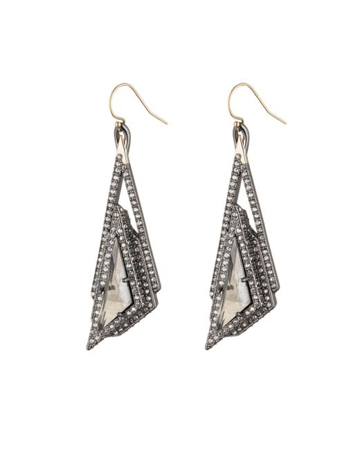 Alexis Bittar | Multicolor Crystal Stepped Fancy Pyramid Wire Earring You Might Also Like | Lyst