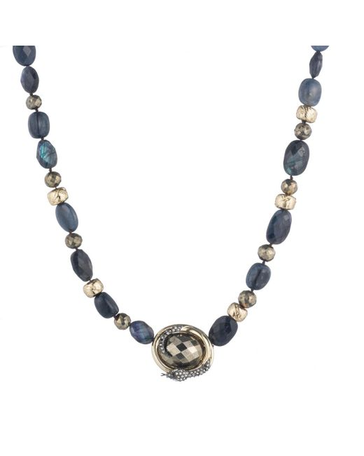 Alexis Bittar   Multicolor Coiled Snake Beaded Pendant Necklace You Might Also Like   Lyst