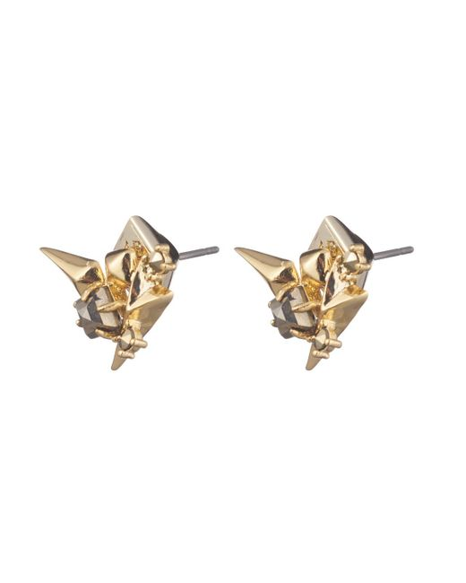 Alexis Bittar - White Golden Studded Post Earring You Might Also Like - Lyst
