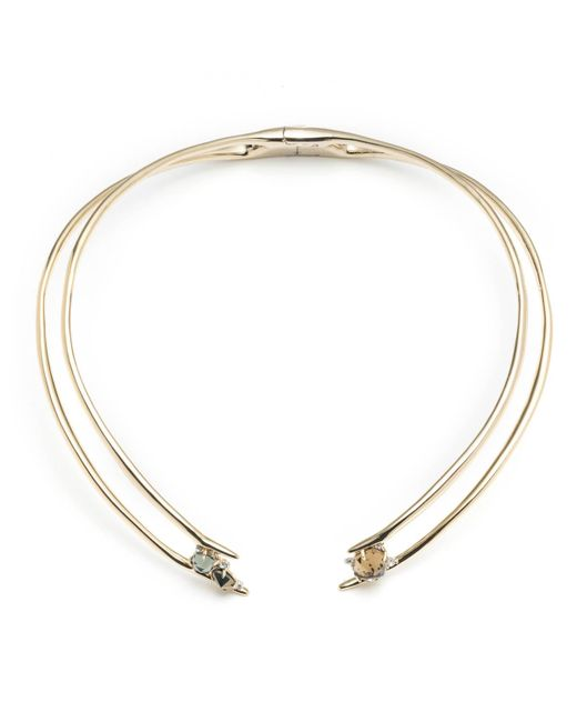 Alexis Bittar | Metallic Futurist Hinge Collar Necklace You Might Also Like | Lyst