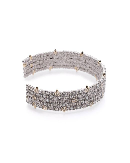 Alexis Bittar | Metallic Crystal Lace Cuff You Might Also Like | Lyst