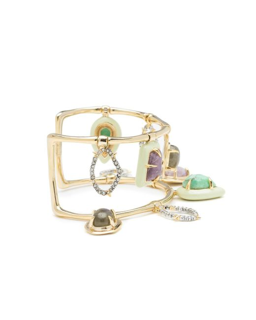 Alexis Bittar - Metallic Swinging Stone Cuff Bracelet You Might Also Like - Lyst