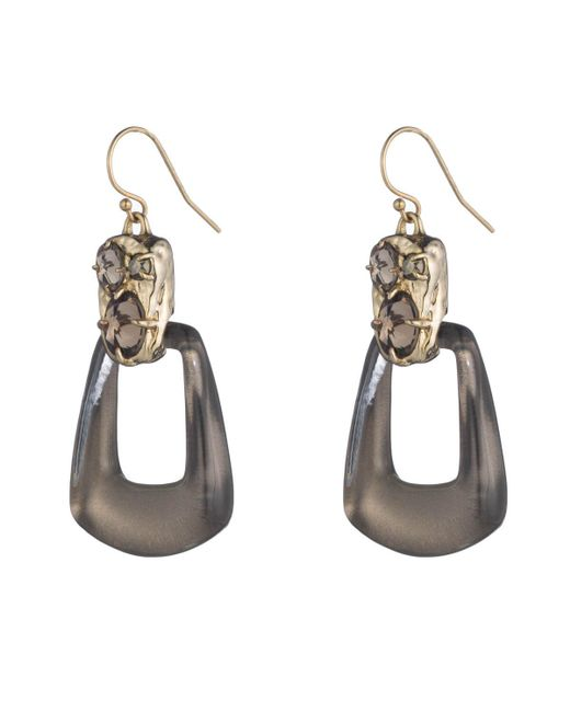 Alexis Bittar | Metallic Rocky Swinging Wire Earring You Might Also Like | Lyst