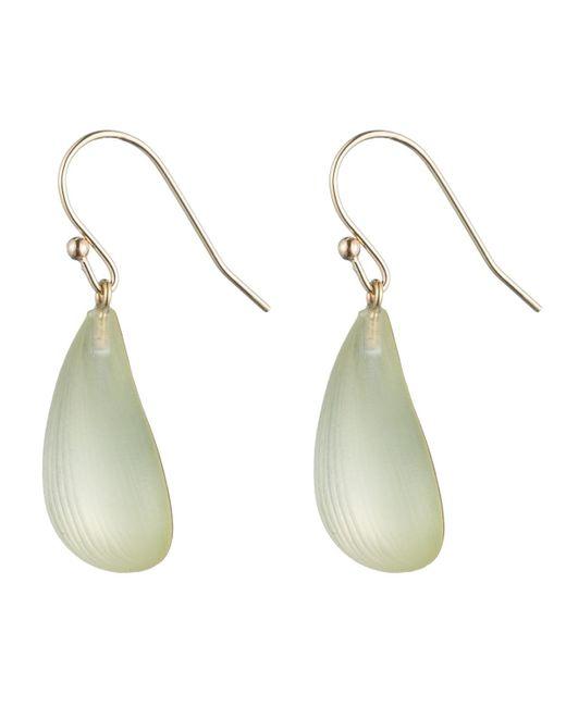 Alexis Bittar - White Dewdrop Earring - Lyst