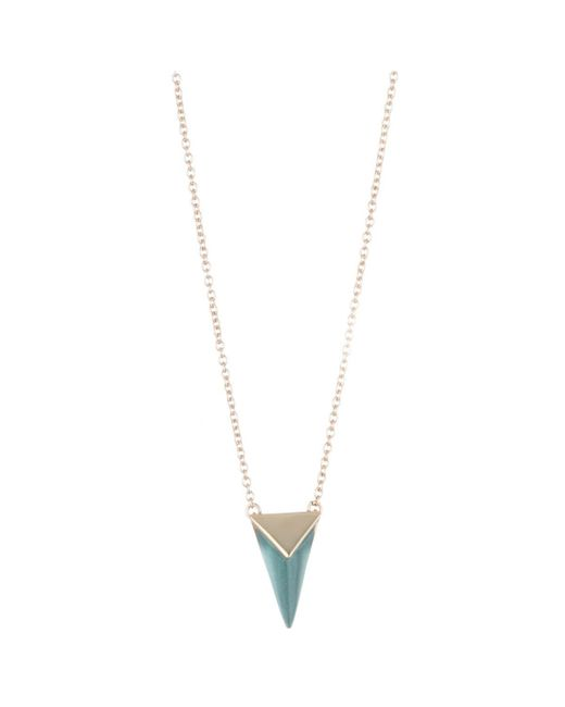 Alexis Bittar | Multicolor Faceted Pyramid Pendant Necklace You Might Also Like | Lyst