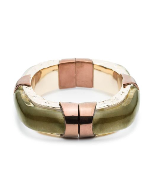 Alexis Bittar | Multicolor Large Square Lucite Bangle Bracelet You Might Also Like | Lyst