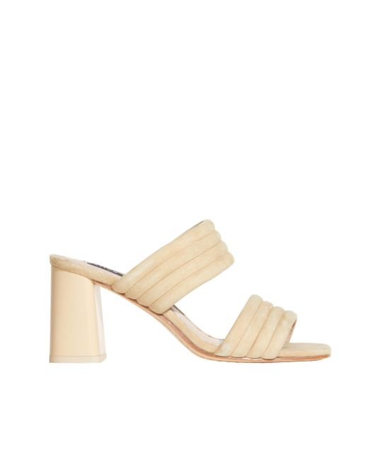 Alice + Olivia | Natural Nude Colby Suede Heel | Lyst