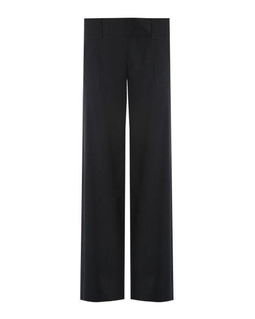 Alice + Olivia   Black Linda Embellished Wide-leg Tuxedo Trousers - Size 6   Lyst
