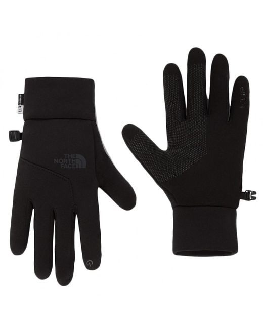 The North Face - Black Etip Fleece Glove for Men - Lyst
