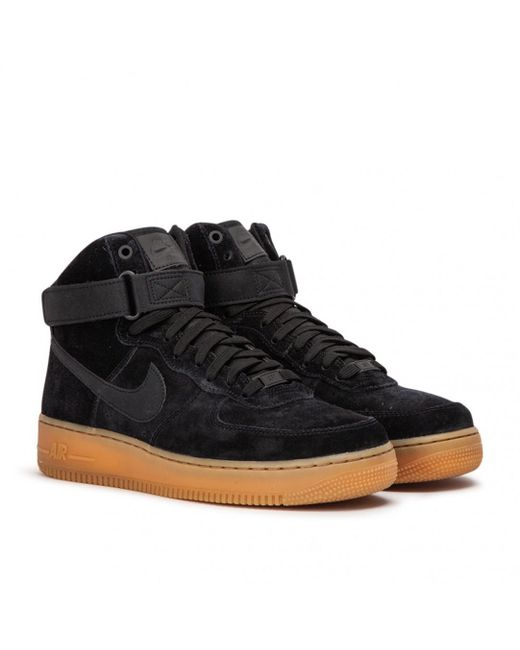2c245323d9a7 Lyst - Nike Air Force 1 High  07 Lv8 in Black for Men - Save ...