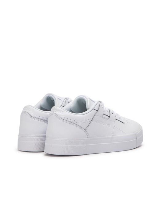 6950b86ecffa6 ... Reebok - White Wmns Workout Lo Fvs for Men - Lyst ...