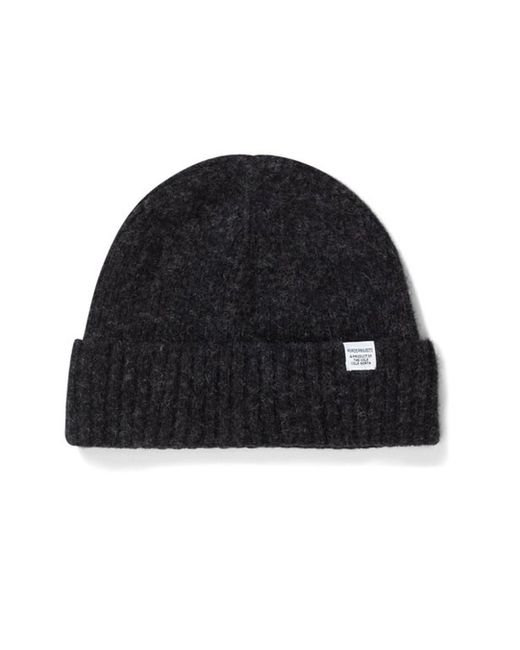 Norse Projects - Red Brushed Lambswool Beanie for Men - Lyst