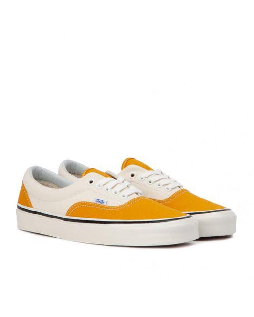 vans era yellow