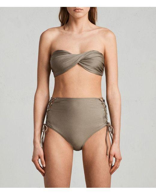 AllSaints - Katoi - Haut de bikini - Noir Vente Pas Cher Avec Une Carte De Crédit eIvZFOvz