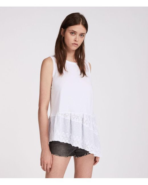 AllSaints Marguerite Adelaide Tank Cheap Sale Fast Delivery Clearance Supply Sale Shopping Online 6hKpL7IQHr