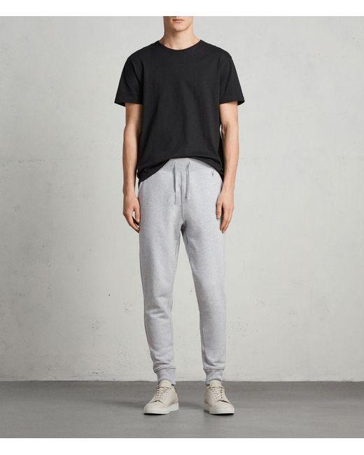 AllSaints - Gray Raven Sweatpants for Men - Lyst