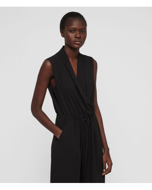 da999e3b20 ... AllSaints - Black Cassie Jumpsuit - Lyst ...