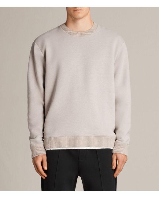 AllSaints   Multicolor Elders Crew Sweatshirt for Men   Lyst