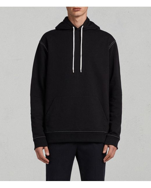 AllSaints - Black Sambic Hoodie for Men - Lyst