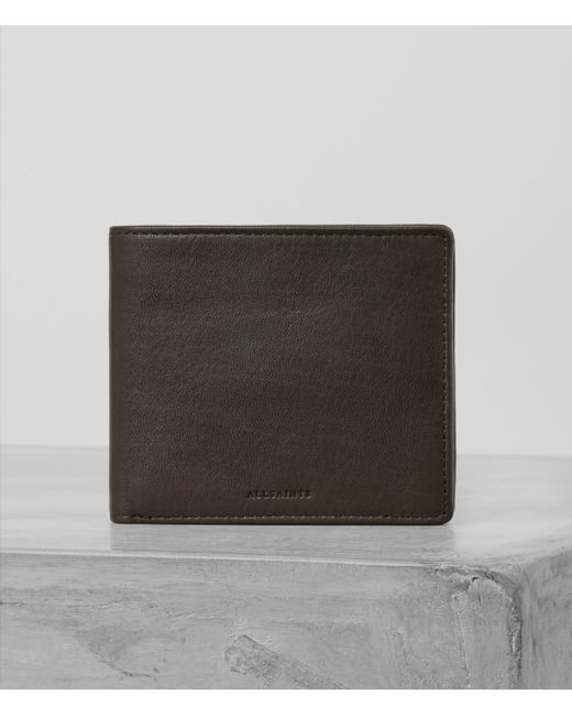 AllSaints | Brown Blyth Wallet for Men | Lyst