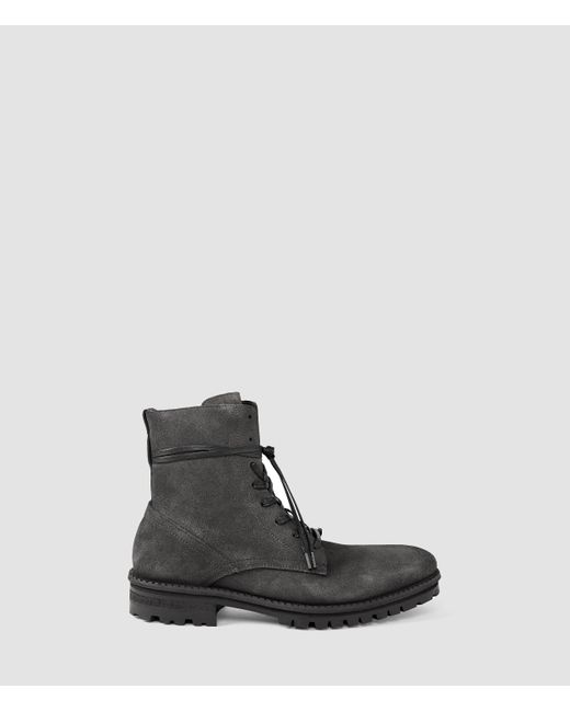 AllSaints | Gray Neptune Boot for Men | Lyst