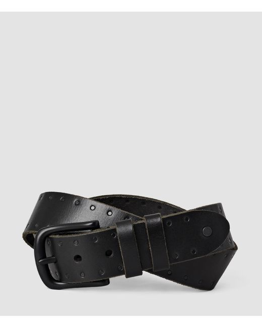 AllSaints | Black Trap Belt Usa Usa for Men | Lyst