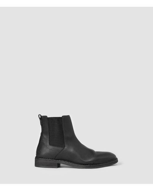 AllSaints | Black Trist Chelsea Boot for Men | Lyst