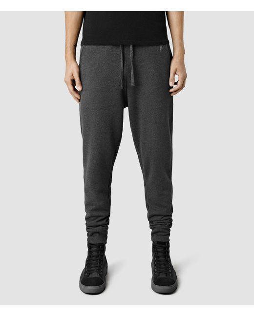 AllSaints   Gray Wilde Sweatpants for Men   Lyst