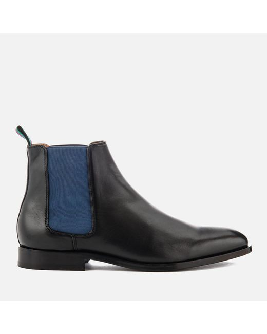 PS by Paul Smith - Black Gerald Leather Chelsea Boots for Men - Lyst